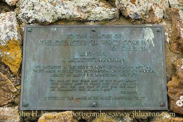 Cowley Memorial, Calf Sound, Isle of Man, November 03, 2017
