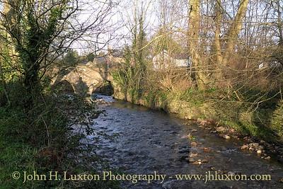 Monks' Bridge, Silverburn River, Balasalla, Isle of Man - February 19, 2013