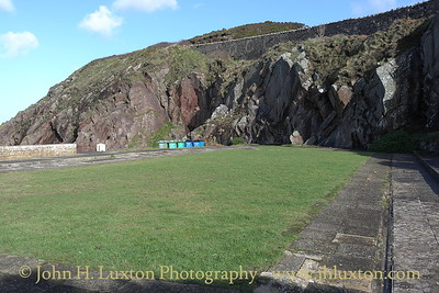 Peel - Open Air Swimming Pool - Isle of Man - February 2011