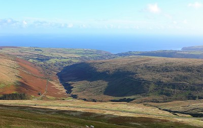 The view from Snaefell 14