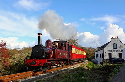 No.4 departs Castletown