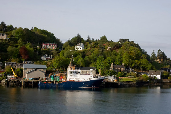 A lovely view leaving Oban harbour en-route to Mull