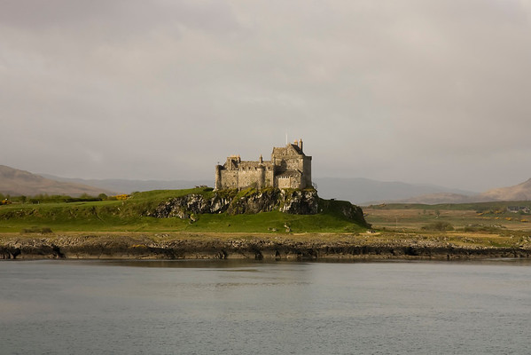 One of the first sights to welcome you to the Mull, Duart Castle