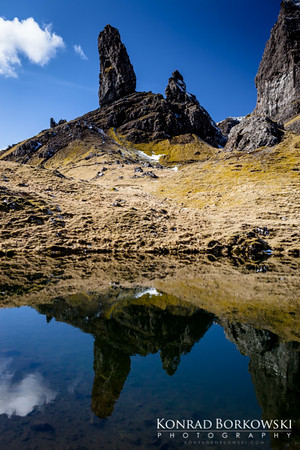 Old Man of Storr (2), Isle of Skye.