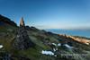 Last rays of sunshine on the Old Man of Storr, Isle of Skye, Scotland