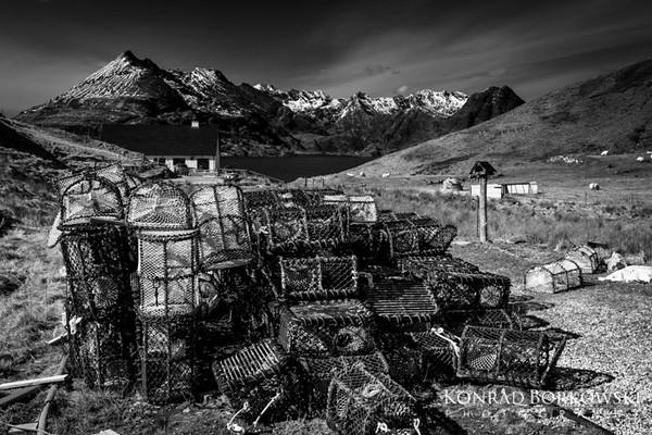 Creels, Elgol, Isle of Skye.