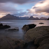 The majestic Cullins from Elgol beach