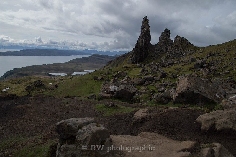 Old Man of Storr and the Sound of Raasay