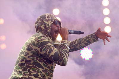 Tinie Tempah @ Isle of Wight Festival 2012