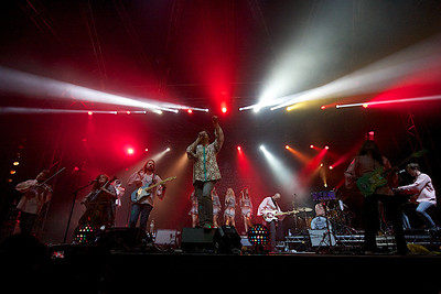 The Polyphonic Spree @ Isle of Wight Festival 2014
