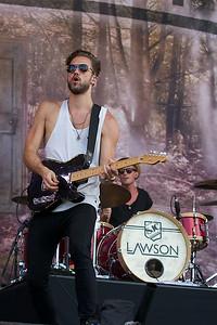 Lawson @ Isle of Wight Festival 2014