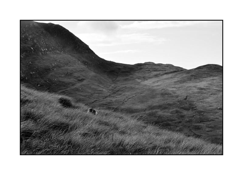Across Glen Sannox.