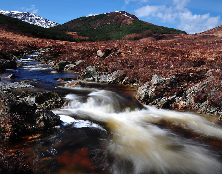 North Glen Sannox burn.