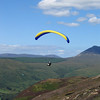Paragliding at 'The Hive', Arran.