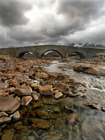 The Sligachan Old Bridge - Isle of Skye