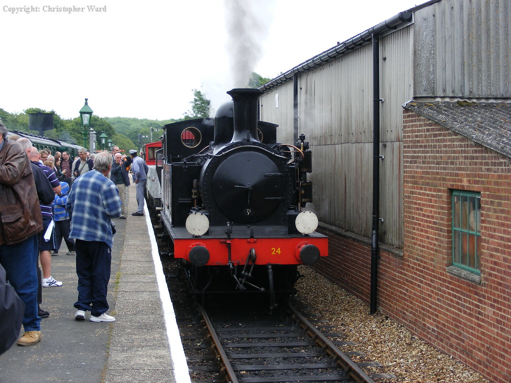 Calbourne prepares to take the goods to Wootton