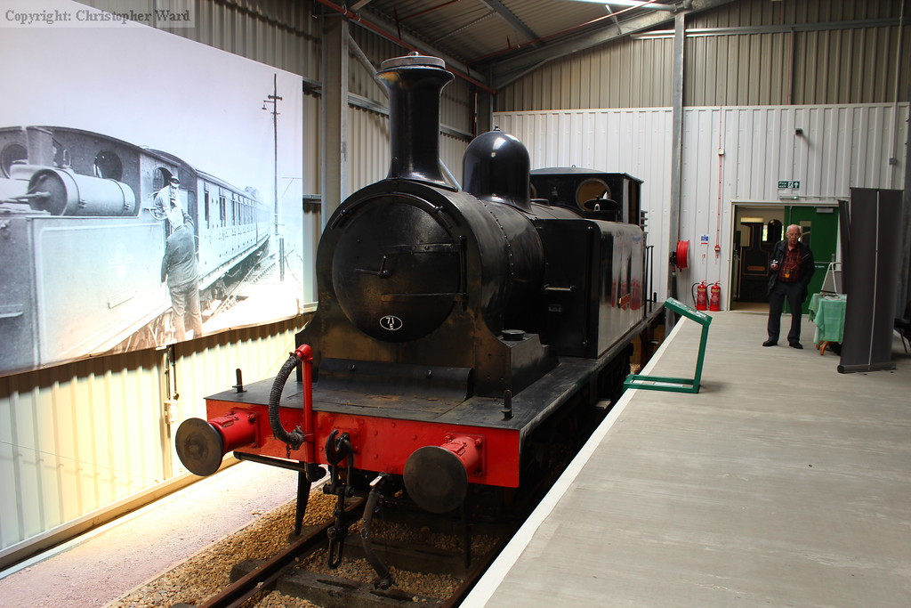The E1 recently arrived at Havenstreet from Cranmore on the East Somerset Railway