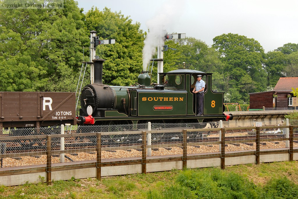 Freshwater indulging in a spot of shunting