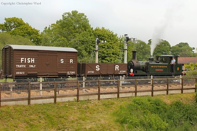 Freshwater with some vintage goods wagons
