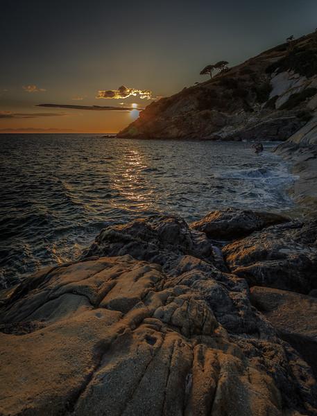 Sunset – Island of Elba, Tuscany Italy