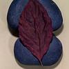 Crisp Red Leaf On Stone