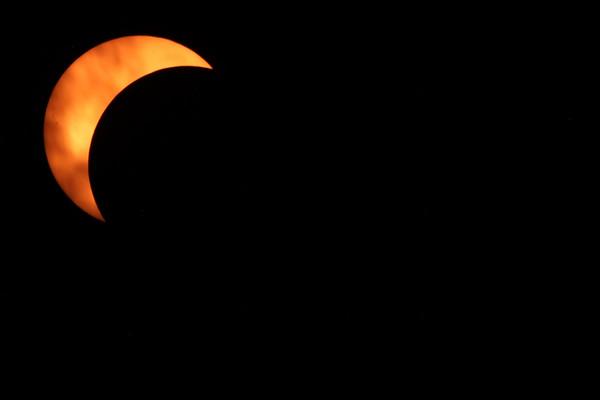 Solar Eclipse - Cloud Cover