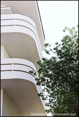 ISRAEL. TEL AVIV BAUHAUS L architecture moderniste de la ville blanche