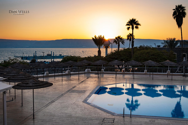 Israel Tour Day 2;  Tiberias Hotel, Sea of Galilee