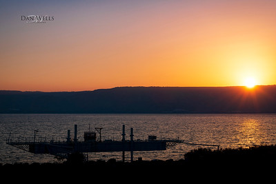 Israel Tour Day 2; Sea of Galilee from Tiberias Hotel