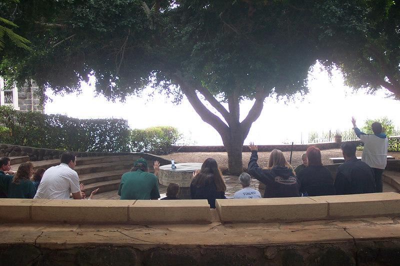 Worshiping at the Sea of Galilee