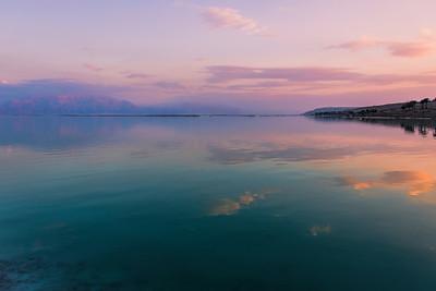 Dead Sea Evening Shots