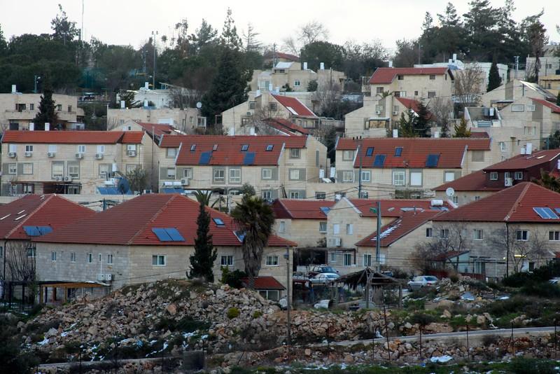 A Jewish settlement, near Ramallah