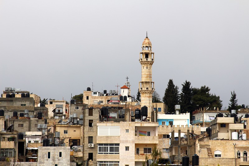 Aida Refugee Camp, Bethlehem, mosque