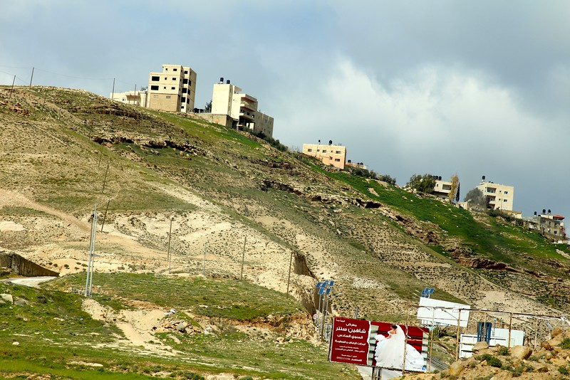 West Bank Scene..  north of Bethlehem