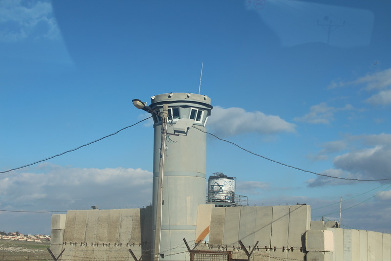 IDF Military Installation in the West Bank