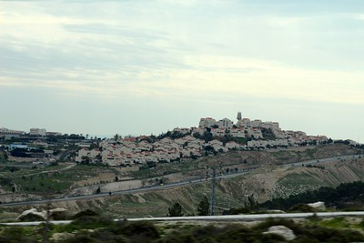 A Jewish Settlement on the West Bank