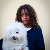 Girl with Dog, Tel Aviv