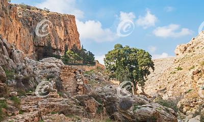 Faran Russian Monastery near Ein Prat in Wadi Qelt
