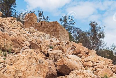 Mamluk Era Flour Mill at Ein Gedi Spring in Israel