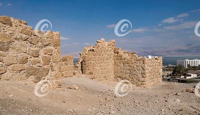 Roman Fortress at Ein Bokek in Israel