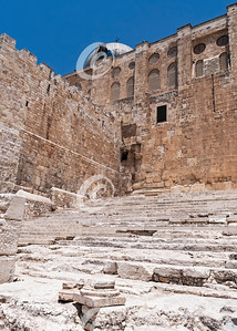 Pilgrim Steps of the Southern End of the Western Wall