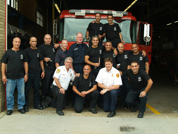 Israel Firefighters Visit New Jersey