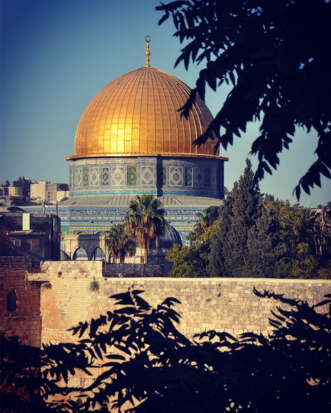 The Dome of the Rock. 2016.