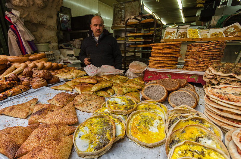 Street Food in Jerusalem