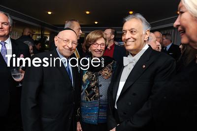 Rabbi Solomon Schiff, Sherley Schiff & Conductor Zubin Mehta