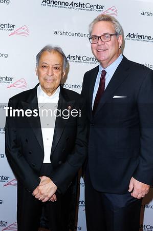 Conductor Zubin Mehta and John Richard