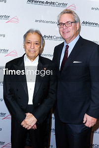 Conductor Zubin Mehta and John Richard