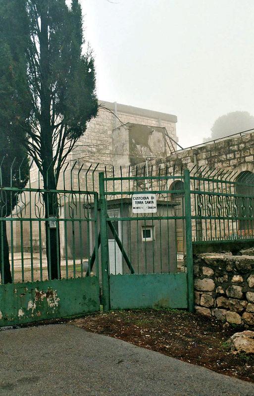 "Mount Tabor: Site of the Transfiguration.<br /> ""Custodia Di Terra Santa MonteTabor"""