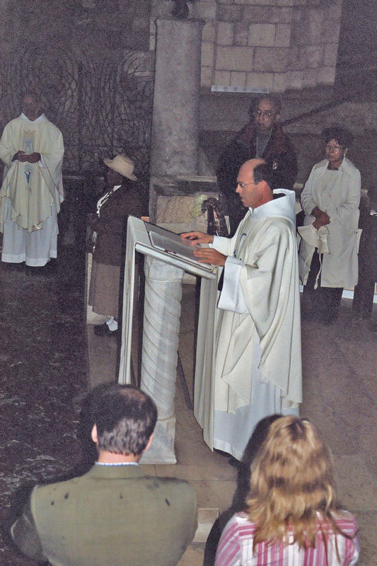 Mass at the Church of the Annunciation