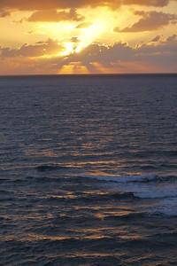 Sunset in Nof Yam